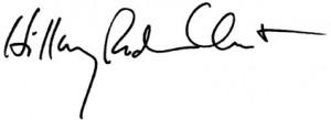 Hillary_Signature 3